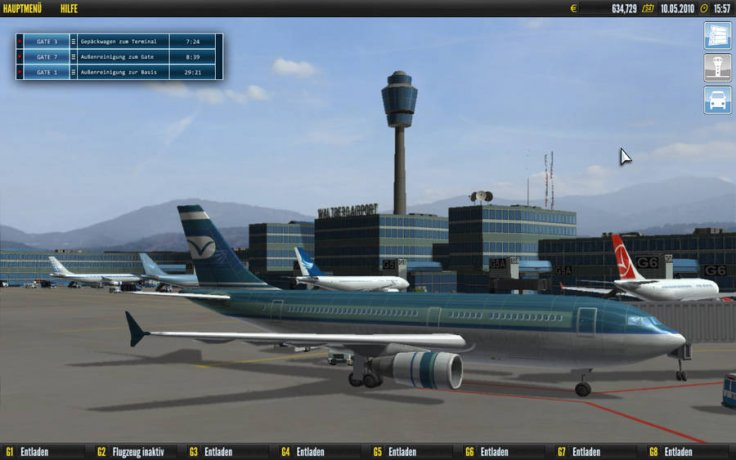 Airport simulator русская