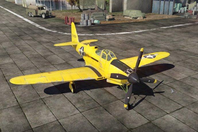 War Thunder | P-63A-10